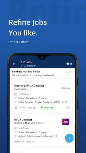 Naukrigulf- Career & Job Search App in Dubai, Gulf 4.0 Screenshots 3