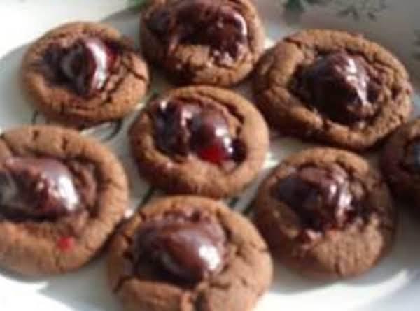 Chocolate Cherry Cookies Recipe