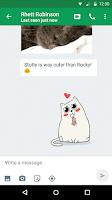 Screenshot of Hangouts
