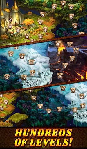 Shadow Kingdom Solitaire. Adventure of princess filehippodl screenshot 20