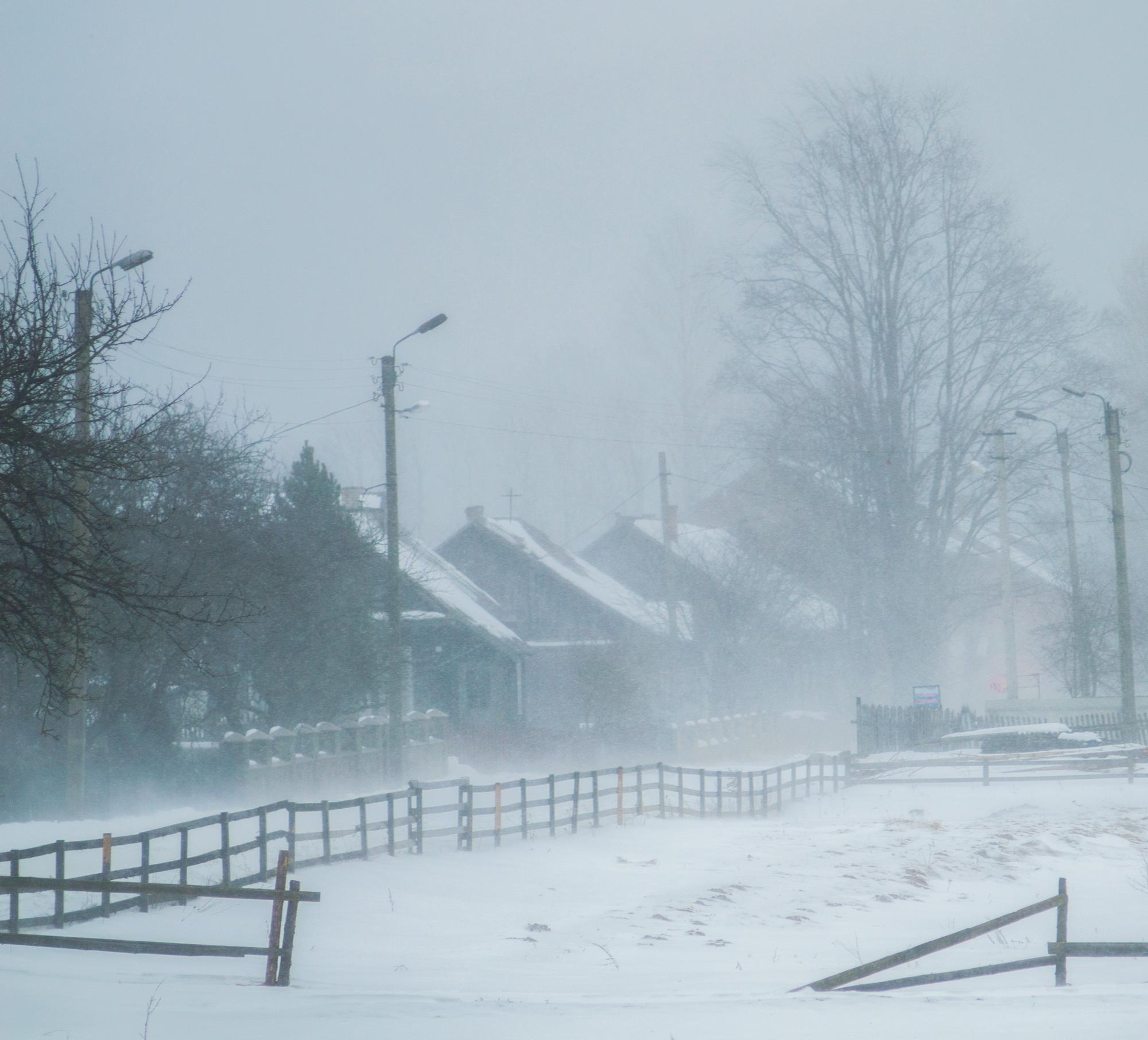 Снігопад в Осмолоді