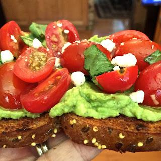 Bruschetta Avocado Toast Recipe