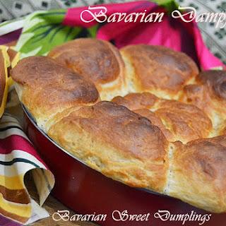 Bavarian Dampfnudel – Bavarian Sweet Dumplings.