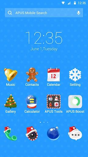 I love Christmas APUS theme