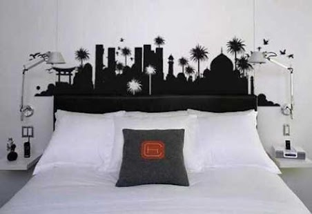 Bedroom Wall Paint Designs