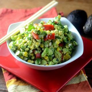 Edamame Avocado Salad Recipe