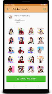 BlackPink WAStickerApps : Stickers for Whatsapp App Download For Android 4