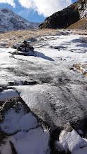 Photo: Sentier glacé