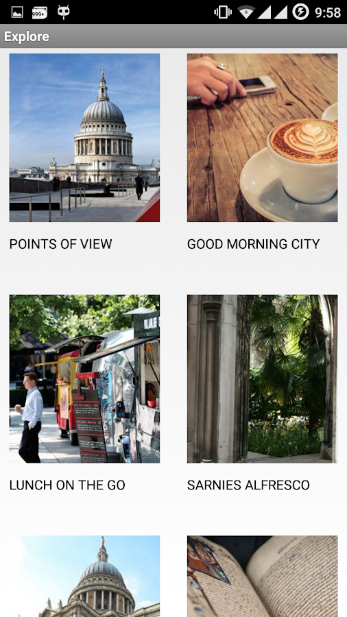 City of London Guide- screenshot