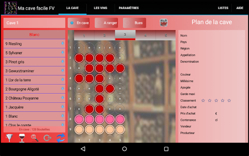 ma cave facile fv – applications android sur google play