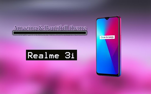 Theme for Realme 3i ss1