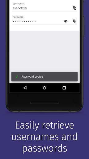 Firefox Lockbox screenshot 4