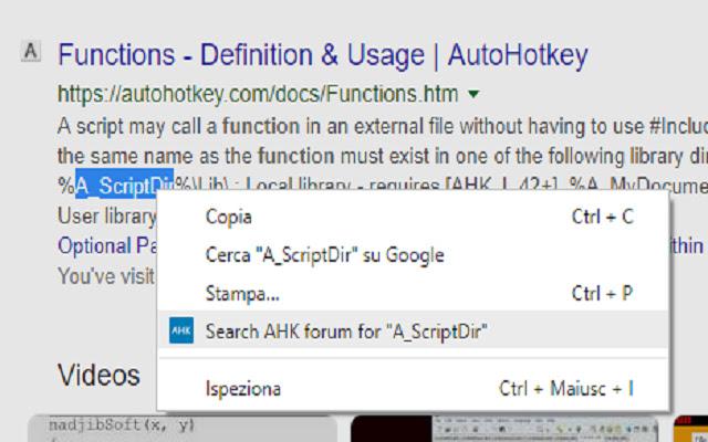 AutoHotKey Search Tool