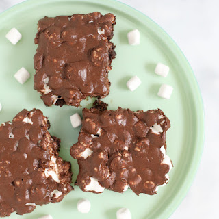 Chocolate Marshmallow Brownies.