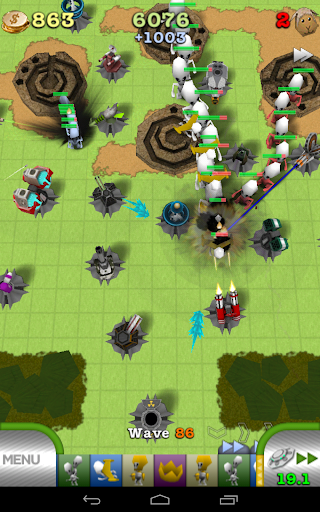 TowerMadness: 3D Tower Defense - screenshot