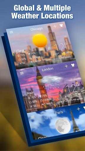 Weather radar & Global weather checker 16.6.0.6270_50153 Screenshots 3
