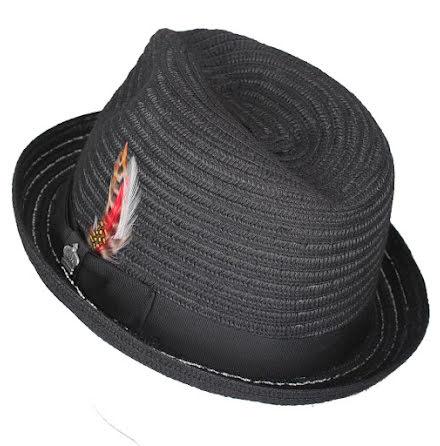 BB Stingy Brim hatt, svart