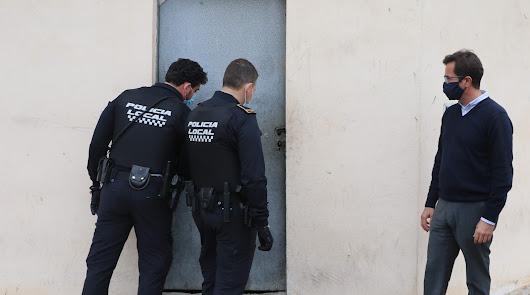 Un juez autoriza el desalojo de un local 'okupado' en San Agustín