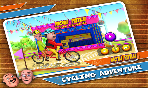 Motu Patlu Cycling Adventure 1.1.1 screenshots 1