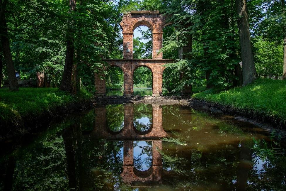 Arkadia, Akwedukt, Polska