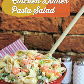 Chicken Dinner Pasta Salad