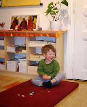 Photo: Vincentovy první meditace - Vincent 1st meditations