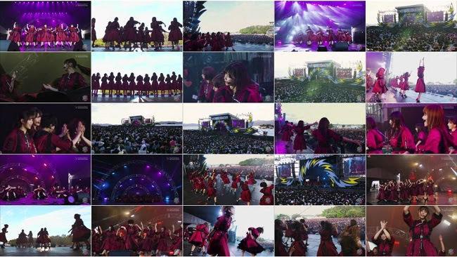 181130 (720p+1080i) 欅坂46 Part – イナズマロックフェス2018 Day1
