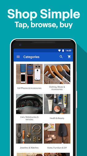 Fashion & Tech Deals - Shop, Sell & Save with eBay Android App Screenshot