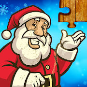 Christmas Jigsaw Puzzles Game - Kids & Adults