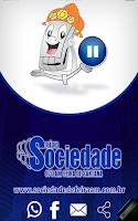 Screenshot of Radio Sociedade AM 970