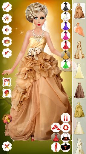 Wedding Makeup Dress Hairstyle