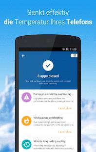 Cooler- Kühlen Sie Ihr Telefon Screenshot