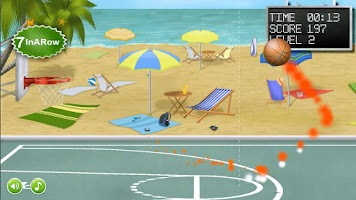 Screenshot of Basketball Free Throws
