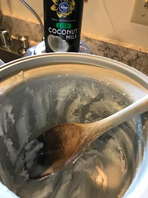 Coconut Ice Cream With Rum