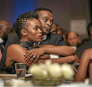 Former power  couple Nkayi and Msengana.