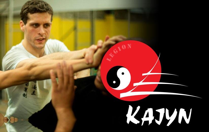 Quentin d'Hainaut prof de Kung Fu Hung Gar, Sanda et Wing Chun au Kajyn