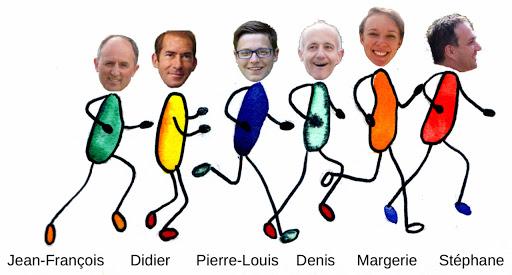 Equipe coureurs strasboourgeois au profit de L'Arche à Strasbourg Marathon EuroDistrict 2015