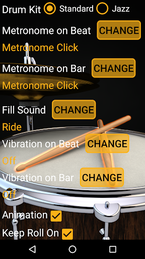 Drum Loops & Metronome Free Outro and Tap BPM screenshots 5
