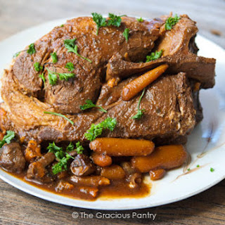 10 Hour Slow Cooker Clean Eating Pork Roast.