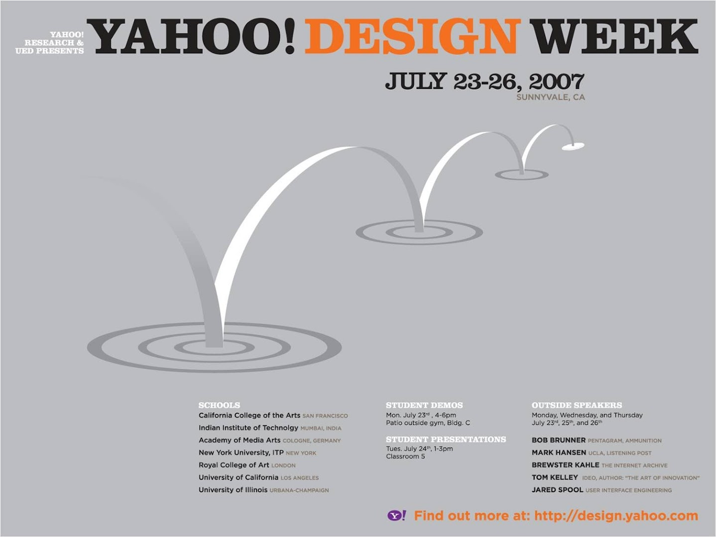 Yahoo! Design Week