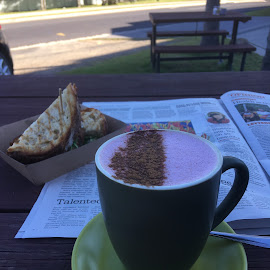 Beetroot Chai by Dawn Simpson - Food & Drink Alcohol & Drinks ( relaxing, tourism, beetroot chai, road trips, toasty, beachside )