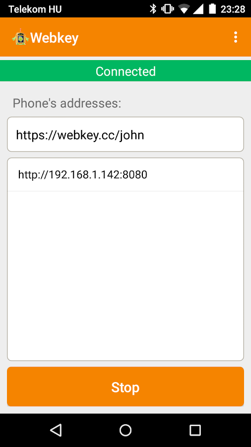 Webkey (ROOT REQUIRED)- screenshot