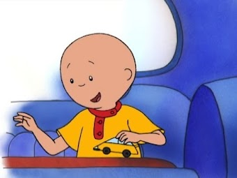 Caillou Beats the Heat/Back Seat Driver/Lost and Found/Holiday Magic