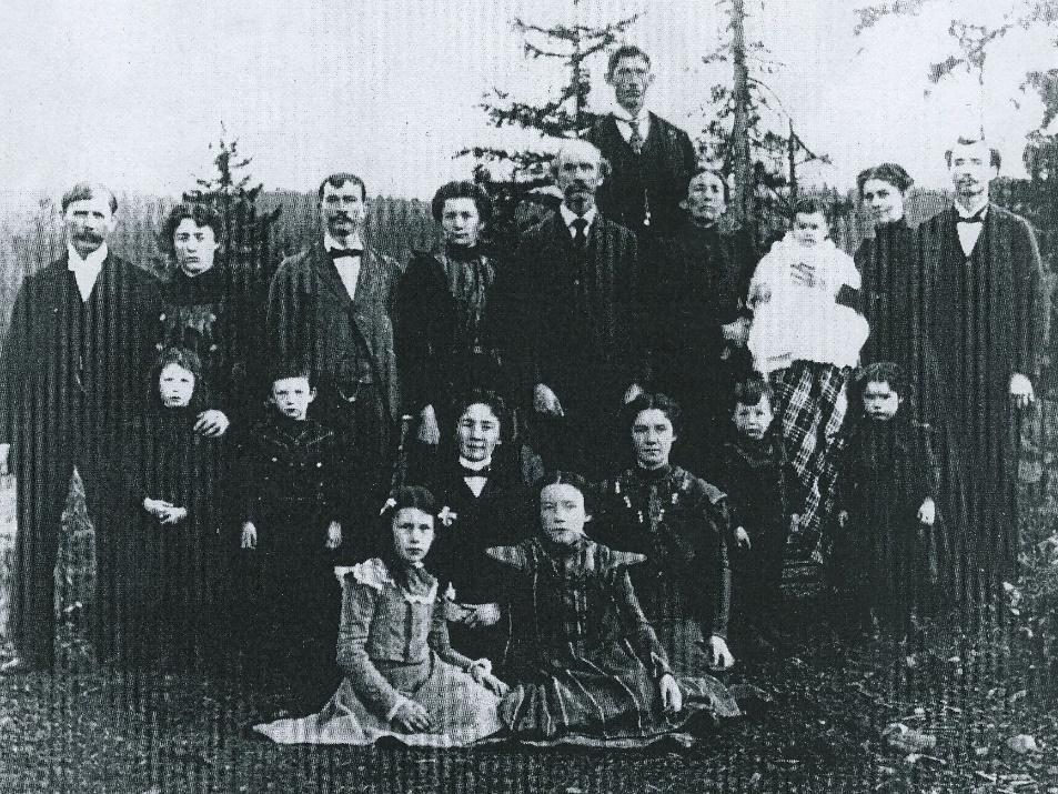 King Taylor Family 1900