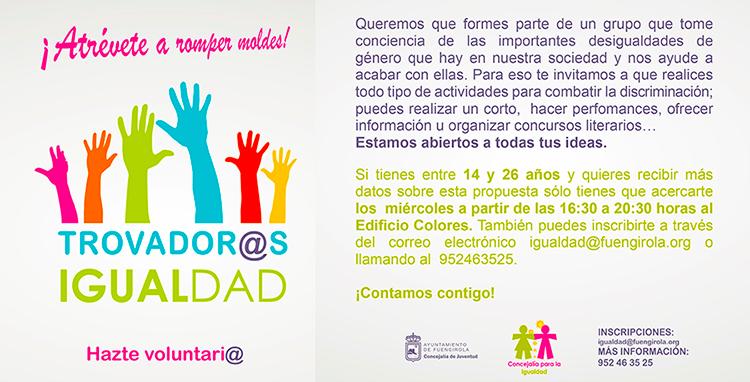 Trovador@s Igualdad