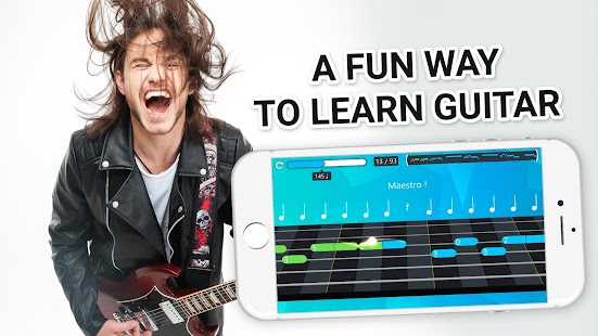 Guitar lessons and tabs- screenshot thumbnail