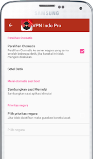 VPN Indonesia Pro - náhled
