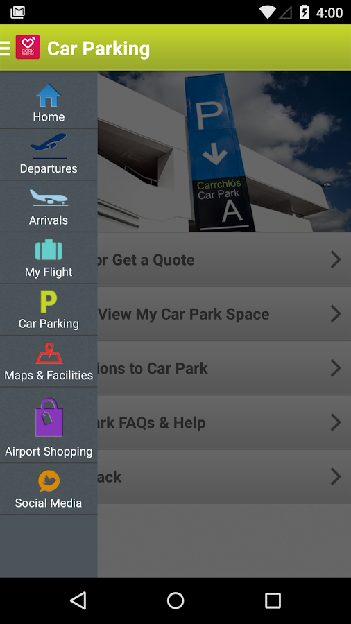 Cork Airport (Official)- screenshot