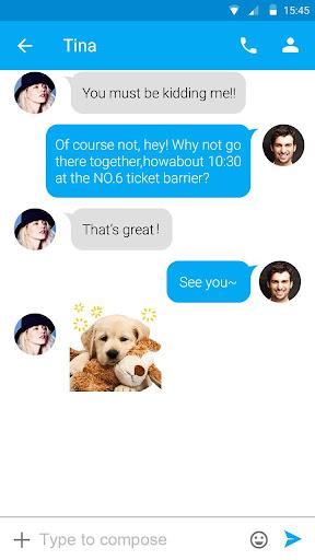 (FREE) GO SMS CUTE STICKER|玩個人化App免費|玩APPs