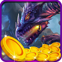 Castle Coin Pusher ✪ Age of Dragons icon
